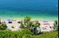 Chorvatsko Drašnice pláž u apartmánu Pavao