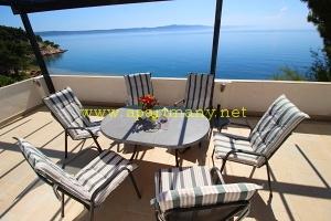 Chorvatsko luxusní ubytování u pláže - Drašnice