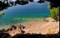 Chorvatsko Omiš Nemira - apartmány ALENA - pláž Mala luka