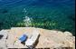 Chorvatsko Pisak apartmány MIRO - privátní pláž u domu