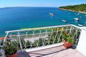 Chorvatsko Staniči Velika Luka apartmán RUŽICA AP4 na pláži